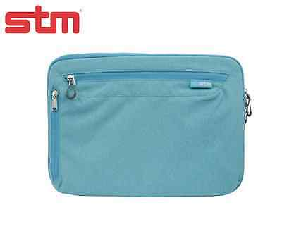 NEW STM Axis For ALL IPad & 10  Tablets Sleeve Case Bag W Straps - Bondi Blue • 16.58£