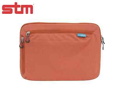 NEW STM Axis For ALL IPad & 10  Tablets Sleeve Case Bag W Straps  - Red Rock • 16.79£