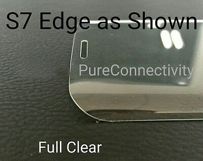 $ CDN7.16 • Buy Genuine 3d Tempered Glass LCD Screen Protector Film For Samsung Galaxy S7 Edge