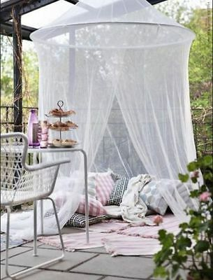 AU25.75 • Buy IKEA SOLIG Net Bed Indoor Outdoor Canopy Fly Mosquito Flying Insect Netting Tent