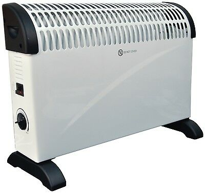 £119.95 • Buy White 2kW Floor Standing & Wall Mounted Home & Office Convector Radiator Heater