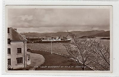 THE  LOCH SEAFORTH  AT KYLE OF LOCHALSH: Ross-shire Postcard (C8959) • 6£