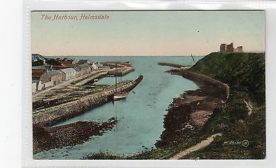 THE HARBOUR, HELMSDALE: Sutherland Postcard (C8343) • 6£