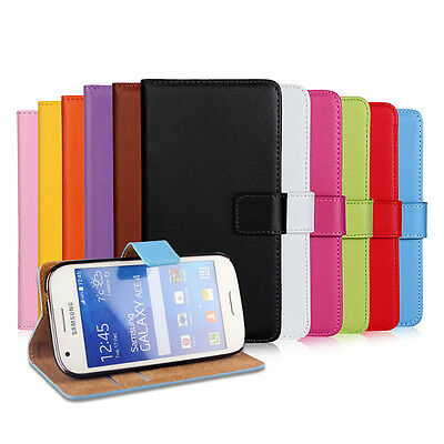 $ CDN10.99 • Buy Leather Flip Card Holder Stand Cover Case Wallet For Samsung Galaxy S7 Edge New