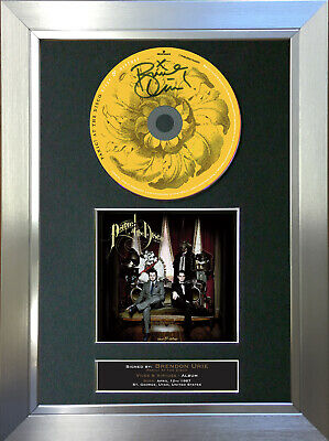 PANIC AT THE DISCO Vices & Virtues ALBUM Signed Autograph CD Mounted Print 71 • 7.99£