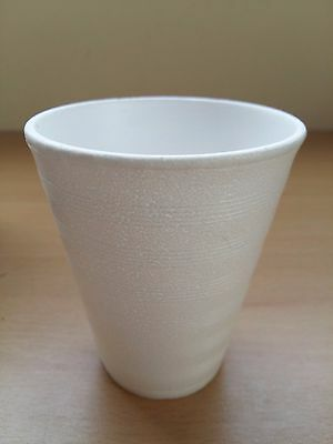 £4.69 • Buy 10 X 7oz Foam Polystyrene Cups Disposable Hot Cold Drinks Juice Tea Cheap!