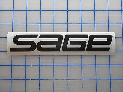 $2.99 • Buy Sage Decal Sticker 5.5  7.5  11  Fly Fishing Rods Reels Line Tippet Tying Case