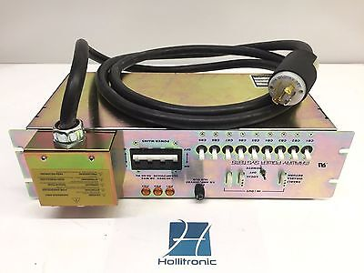$ CDN187.98 • Buy Marway Power Systems MPD 208A Industrial Rackmount Power Distribution Unit