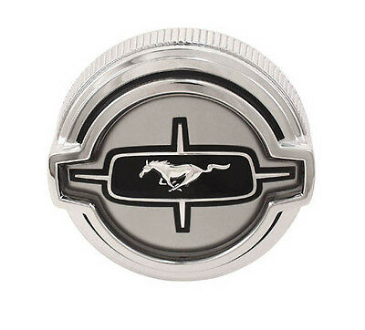 $57.95 • Buy New! 1968 Ford Mustang Twist On Gas Cap Standard Cars Chrome Fuel Cap By Drake