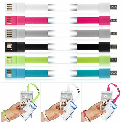 $1.27 • Buy Charging Charger Micro USB Data Sync Cable For MobilePhone Bracelet WristBand