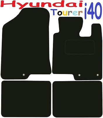 Hyundai I40 Tourer DELUXE QUALITY Tailored Mats 2011 2012 2013 2014 2015 2016 20 • 21.86£