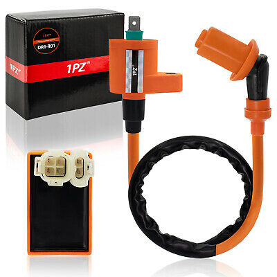 Performance Ignition Coil Racing AC CDI Box GY6 50cc -150cc Chinese Scooter Bike • 13.49$