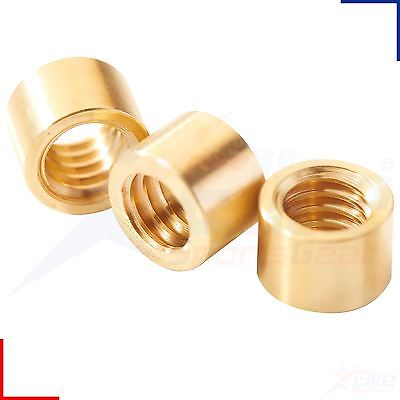 £1.84 • Buy Peradon Snooker Pool Cue Brass Ferrules For Stick On Tips 6.5, 7, 8 - 12mm