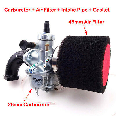 AU66 • Buy Molkt 26mm Carby Intake Air Filter For Lifan YX 140cc 150cc 160cc Pit Dirt Bike