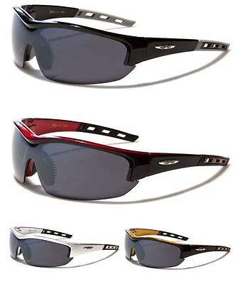 X Loop Sport Mens Womens Sport Running Cycling Designer Wrap Sunglasses Uv400  • 10.99£