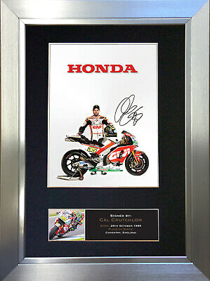 CAL CRUTCHLOW Signed Autograph Mounted Photo Repro A4 Print 628 • 18.99£