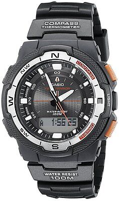 £44.99 • Buy Casio  SGW-500H-2BVER Gents Sports Alarm COMPASS THERMOMETER Chronograph Watch
