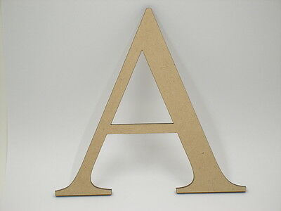 AU3.50 • Buy 15cm Large MDF Wooden Words Wood Letters Alphabet Name TNR