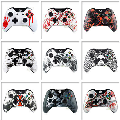 $13.99 • Buy Patterned Front Shell Faceplate Repair For Microsoft Xbox One Controller