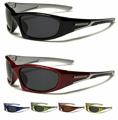 Nitrogen Mens Womens Sport Running Cycling Designer Polarized Wrap Sunglasses • 6.99£