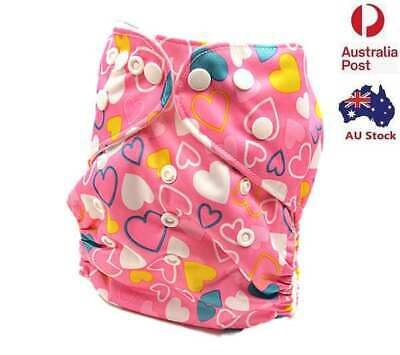 AU12.99 • Buy New Baby Girl Modern Cloth Nappies Nappy Waterproof Outer Layer Material (D043)