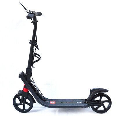 AU110.16 • Buy New Deluxe Push Scooter Adult Kids Commuter Dual Suspension Big Wheel Presents