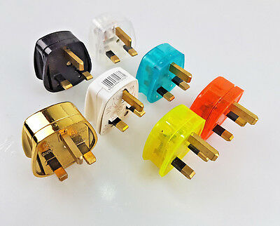 3pin Uk Plug Mains Electrical Plug 13A Fuse Fitted Plug Uk Power • 4.99£