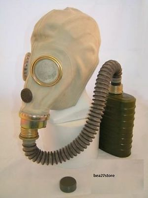 £15 • Buy MUA ZsM41M GAS MASK & VOICE CHAMBER, FILTER, HOSE AND WATERPROOF BAG- NOT GP5