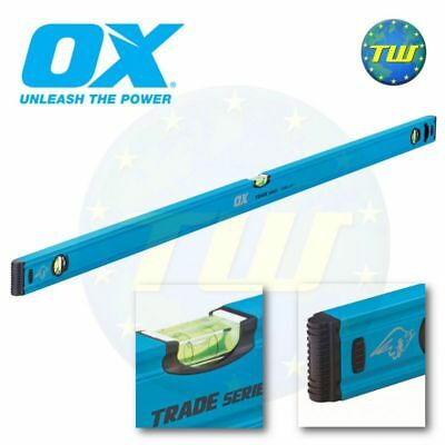 OX Tools Trade Spirit Level 1200mm 4Ft 48in 120cm 3 Vial Milled Levels T500212 • 26.89£