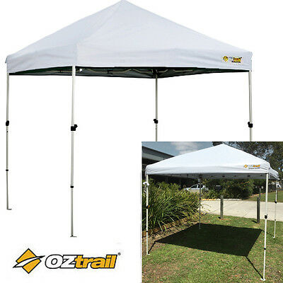 AU159.95 • Buy Oztrail Compact Gazebo WHITE 2.4x2.4m Marquee Stall Stand Tent Canopy