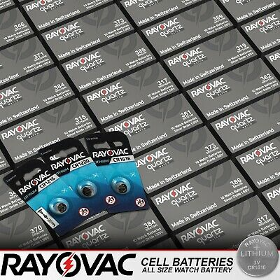 Rayovac Cell Batteries All Size Watch Battery Kitchen Scales Car Coin Batteries • 1.59£