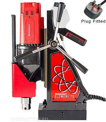 Rotabroach Element 75 Magnetic Drill & Tapping Machine 75mm Dia 220v -240v • 875£