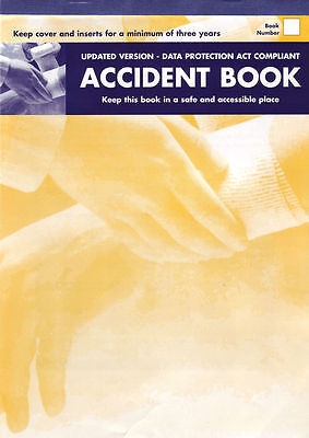 Accident Report Book Hse Approved ,school, Office, Factory, Garage, Nursery,  • 4.95£