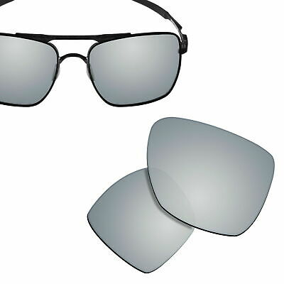 £6.51 • Buy Polarized Replacement Lenses For-OAKLEY Deviation Sunglasses Silver UVA&UVB