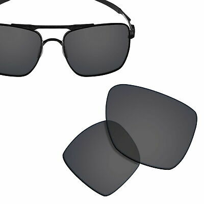 £5.78 • Buy Polarized Replacement Lenses For-OAKLEY Deviation Sunglasses Solid Black UVA&UVB