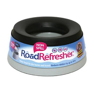 Road Refresher Non Spill Non Slip  Dog Puppy Water Bowl - LARGE - Home Or Travel • 13.49£