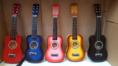 £14.99 • Buy 21  Childrens Kids Wooden Acoustic Guitar Musical Instrument Child Toy Xmas Gift