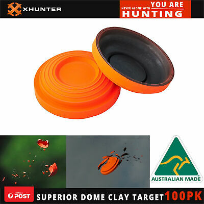 AU50 • Buy Superior Dome Clay Pigeon Target Australia Made Clay Targets Shooting 100 Pk