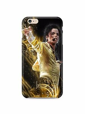 £9.30 • Buy Michael Jackson The King IPhone 4S 5 6S 7 8 X XS Max XR 11 12 Pro Plus Case 18