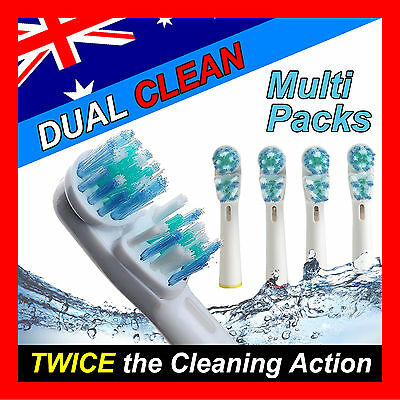 AU5.99 • Buy Dual Clean Oral B Compatible Electric Toothbrush Replacement Brush Heads X20pcs