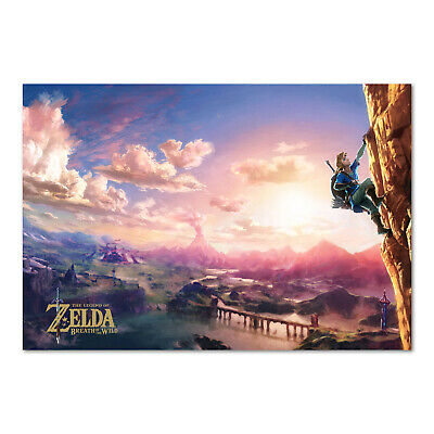 $12.99 • Buy The Legend Of Zelda: Breath Of The Wild Poster - High Quality Prints