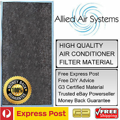 AU24.99 • Buy Air Conditioner Filter G3 Superior To G2 Ducted Air Con Material Furnace Heating