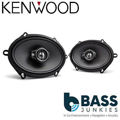 £49.95 • Buy Kenwood Car Stereo 6x8  Inch 720 Watts Door 3 Way Car Speakers To Fit Ford Mazda