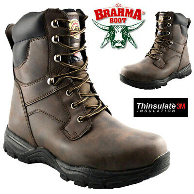 £19.95 • Buy Mens Combat Safety Steel Toe Cap Military Army Work Ankle Biker Boots Shoes Size