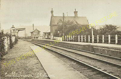 Snettisham Railway Station Photo. Dersingham - Heacham. Hunstanton Line. (15) • 3.50£
