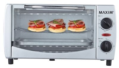 AU62 • Buy Maxim 1000W 9L Electric Toaster Oven/60 Min Timer/Toast Grill For Home/Caravan