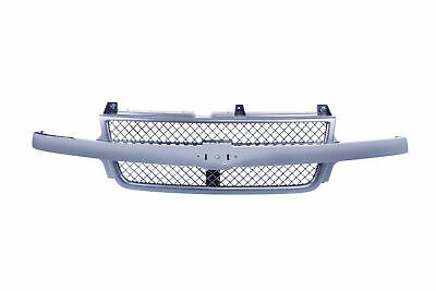 $141.52 • Buy AM Front Grille W/Chrome Bar Black Shell For 01-02 Chevy Silverado 3500/2500 HD