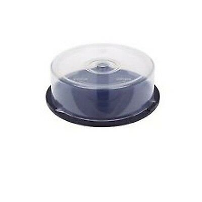 £3.99 • Buy 1 X Cd/DVD Disc Media Holder Storage Cake Box Clear Plastic Tubs Stores 25 Discs