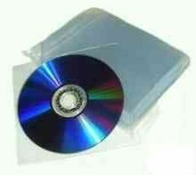 £3.49 • Buy 25 X Premium Plastic 120 Micron CD Sleeve With Flap Branded DragonTrading®...