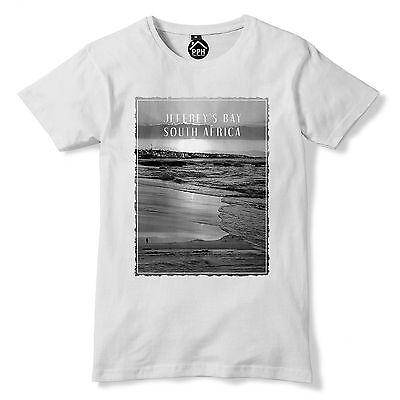 £9.95 • Buy Jeffreys Bay South Africa Tshirt Surf Mens Top Wax Famous Surfing T Shirt 119